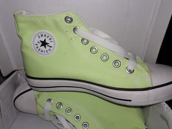 Zapatos Botines Tipo Converse Unisex