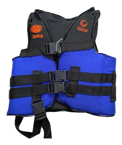 Colete Salva Vida Infantil Aux Flutuação 40kg 30kg 20kg 15kg