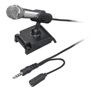 Mini Microfono Para Celular Conexion Jack 3.5 Mm Vlogging