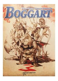 Boggart - Ed. Historieteca - Carlos Trillo - Policial Hadas