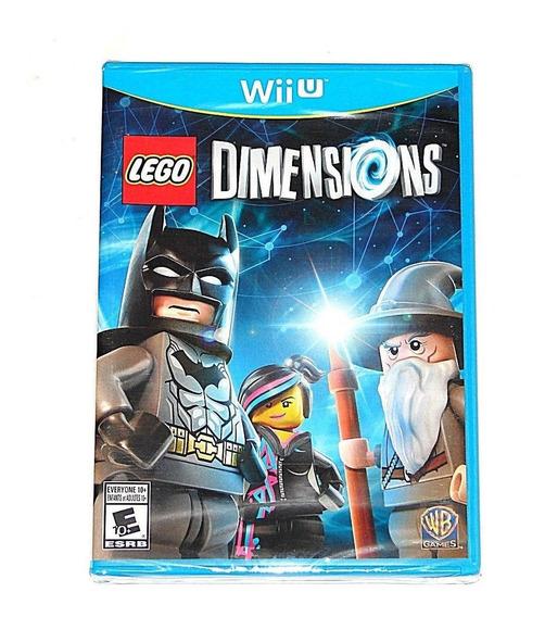 Lego Dimensions Nintendo Wii (nãofunciona Sem O Portal)