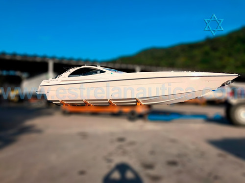 Lancha Intermarine Excalibur 45 Barco Iate N Phantom Ferrett