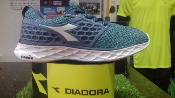 Tenis Diadora React Sky/blue