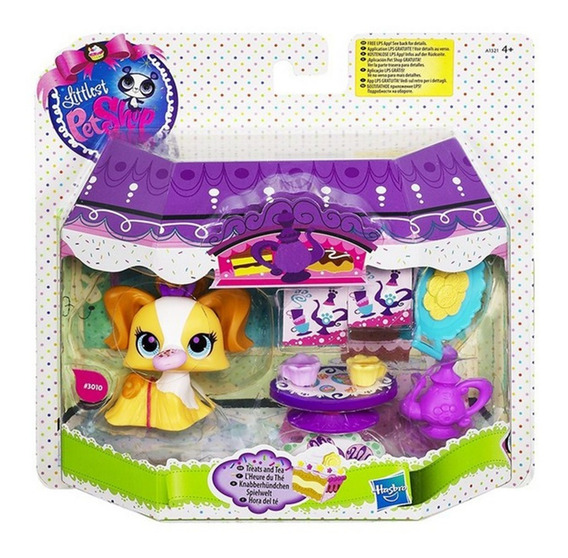 Littlest Pet Shop Mascota Figura Playset Original Hasbro
