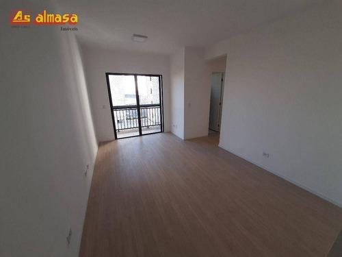 Apartamento Com 2 Dormitórios Para Alugar, 59 M² Por R$ 1.200,00/mês - Jardim Maia - Guarulhos/sp - Ap0588