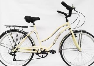 Bicicleta Mao Playera Full 6 Velocidades Dama Rodado 26