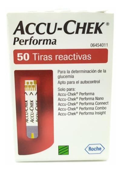 Accu-chek Performa Caja Con 50 Tiras Reactivas