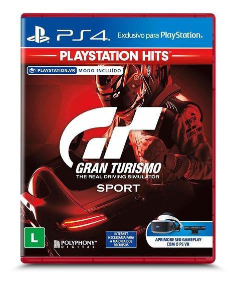 Jogo Gran Turismo Sport Novo - Mídia Física Ps4 + Brinde