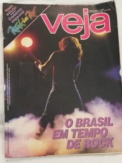 Revista Veja 852 Rock In Rio Iron Maiden Freddie Mercury