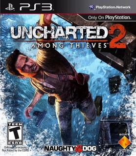 Uncharted 2 Ps3, Disco, Nuevo Y Sellado