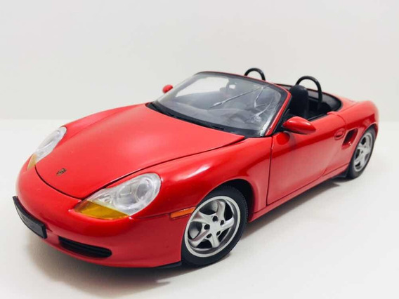 Miniatura Porsche Boxster Vermelho Ut Models 1/18