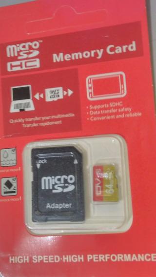 Cartão Micro Sd Ov 64gb Classe 10 U3 A1 4k