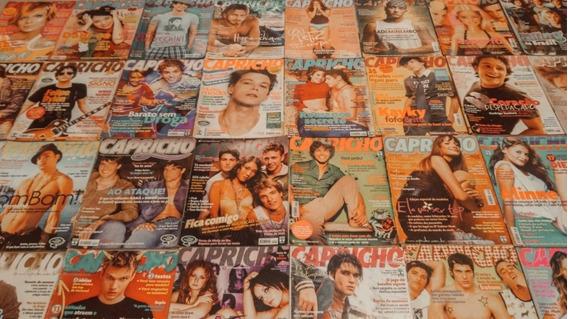 Coleção Revista Capricho (73 Exemplares)
