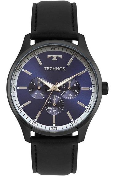 Relógio Masculino Technos Steel Preto - Original
