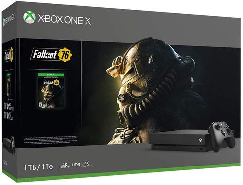 Xbox One X 1tb - Fallout 76 Bundle 4k