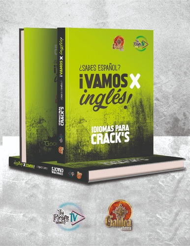 ¿sabes Español? ¡vamos X Inglés! Idiomas Para Crack´s