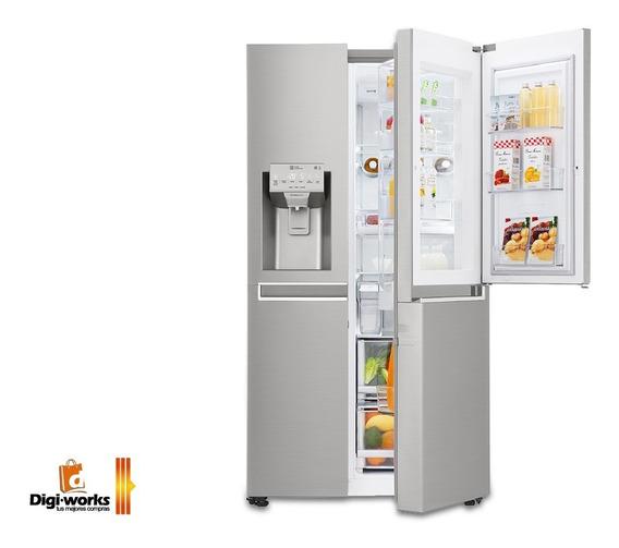 Refrigeradora Lg Inverter Door-in-door Incluido Iva