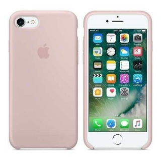 Capa Original iPhone 7 / 8 Apple - Rosa Areia
