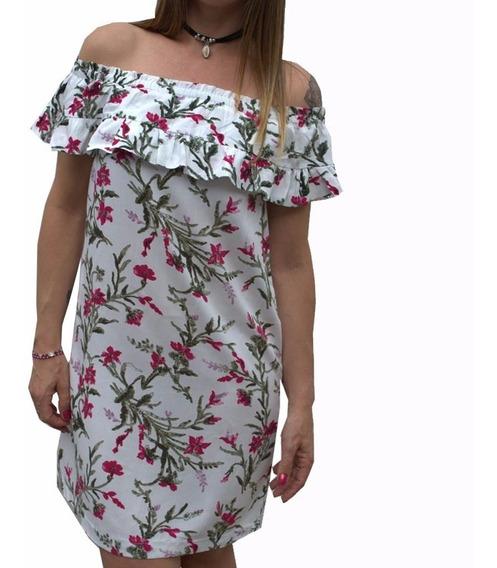 Vestido Paisano Estampado Mujer The Big Shop