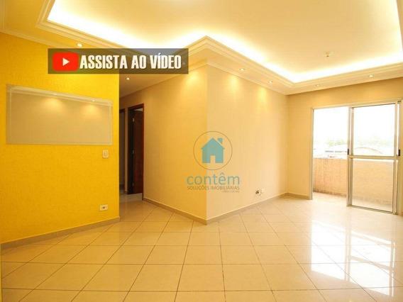 Ap1148- Apartamento Com 3 Dormitórios Para Alugar, 75 M² Por R$ 1.265/mês - Quitaúna - Osasco/sp - Ap1148