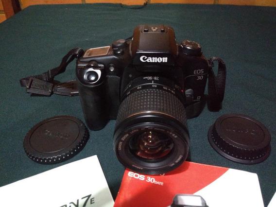 Câmera Fotográfica Canon Eos 30 Analógica