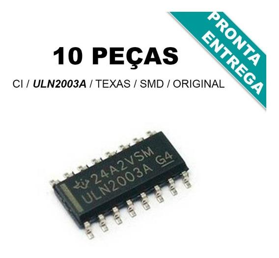 Uln2003a * Uln2003 * Ci Smd * Texas * Original * (10 Peças)