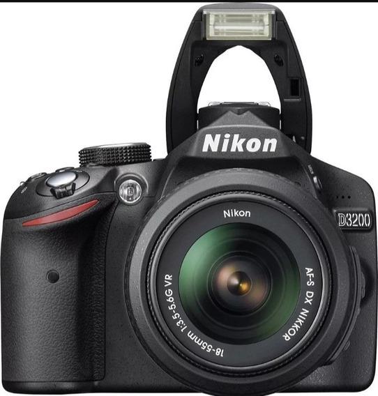 Camera Nikon D3200, Pouco Uso, Semi Nova , Na Caixa