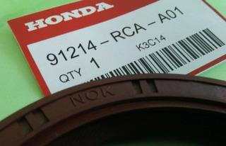Estopera Trasera Cigueñal Honda Civic Accord Crv Fit Nok