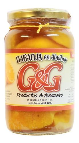 Naranja En Almíbar G&g X 480grs