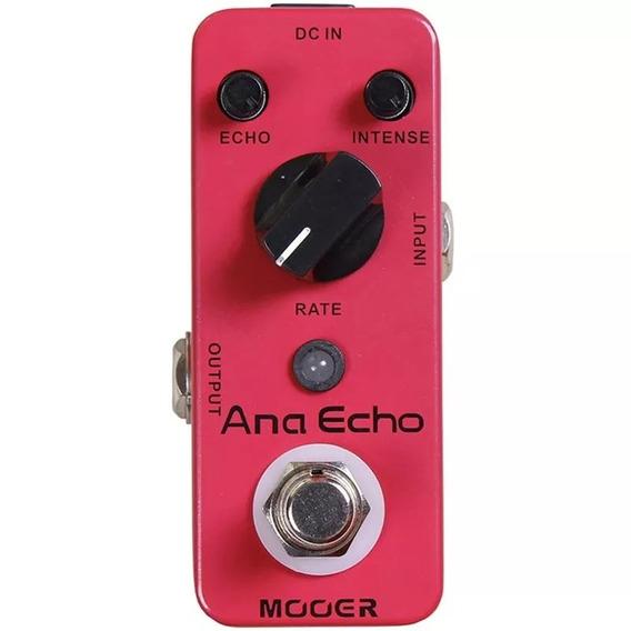 Pedal Mooer Ana Echo Analog Delay - Maead Pedal Guitarra