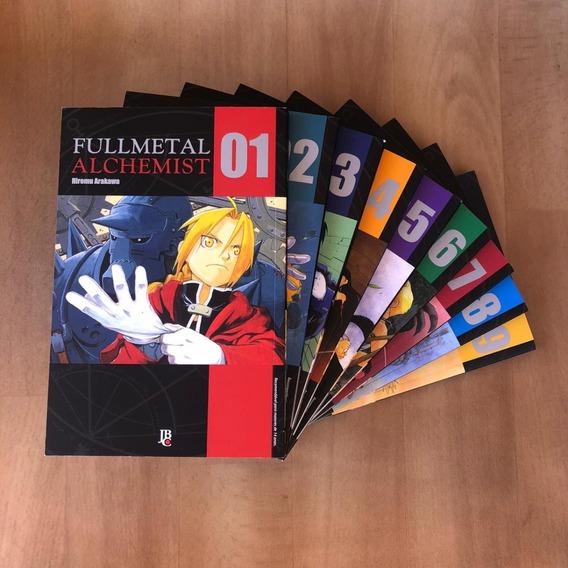 Mangá Fullmetal Alchemist Do 1 Ao 9 Jbc