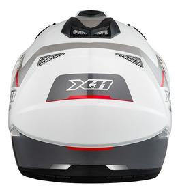 Capacete X11 Crossover X3 - Com Viseira Escura