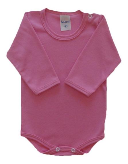 Body Bebê Menino Menina Algodão Canelado Tamanho 1 - 2 - 3