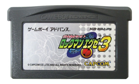 Mega Man Battle Network 3 Original Nintendo Game Boy Advance