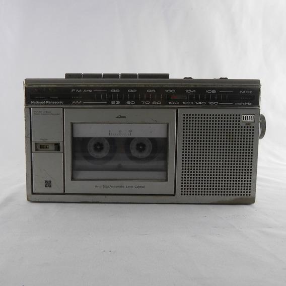 Rádio Portatil National Panasonic Rx-1810 Usado C/ Defeito