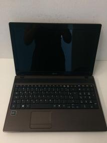 Notebook Acer Dual Core V6 Mem 4 Gb Tela 15,6 Hd 320 Gb