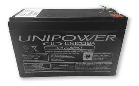 Bateria Selada 12v 7ah Unipower P/ Alarme/ Outros