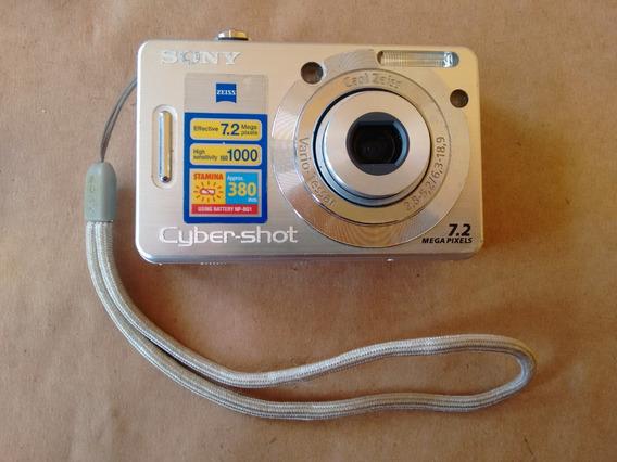 Camera Sony Cyber-shot Dsc-w55 7.2mp 2,8-5,2/6,3-18,9