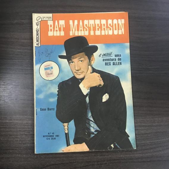 Bat Masterson N° 45 11/1961 - Bom Estado