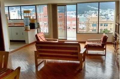 Arriendo Departamento Central Con Vistas Hermosas De Quito
