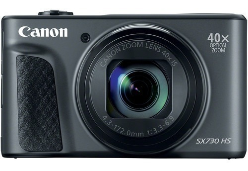 Camera Powershot Canon Sx730hs 20.3mp 40x - Black