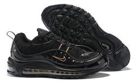 Negra Tenis Nike Air Hombre Max 98 8O0wkXPn