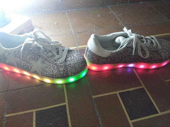 Zapatillas Footy Con Luces Led