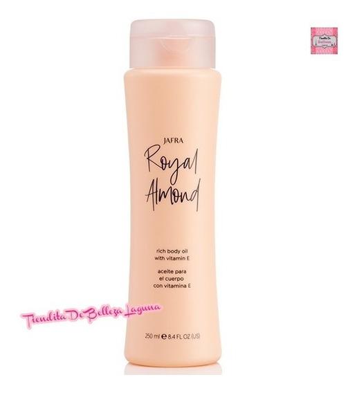 Royal Almond Aceite De Almendras Con Vitamina E Jafra 250 Ml