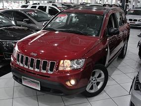Jeep Compass 2.0 Sport 2012 Completo + Teto + Couro