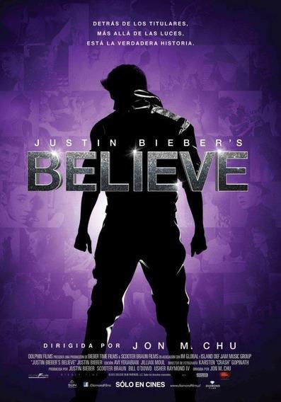 Poster Original Cine Justin Bieber