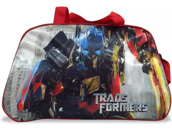 Bolsa Infantil Para Viagem Transformers