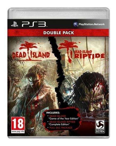 Kit Dead Island Goty + Dead Island Riptide - Ps3psn