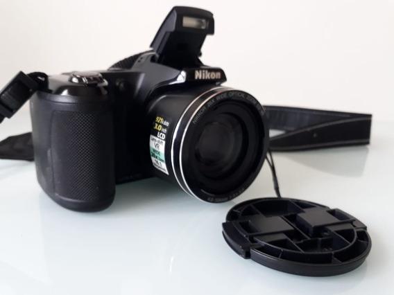 Camera Nikon Coolpix L810 Semi Profissional Em Otimo Estado