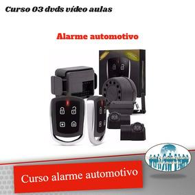 Curso Alarmes Automotivos E Motos Em 3 Dvds + Brindes Z55